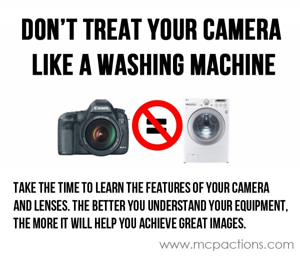 washing-machine-600x516 Don`t Treat Your Camera Like a Washing Machine Guest Bloggers Photography Tips