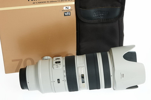 white-nikkor-70-200mm-f2.8-lens White Nikkor 70-200mm f/2.8 lens is real and you can have it News and Reviews