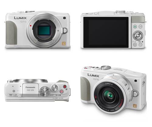 white-panasonic-gf6-release-date-leaked Panasonic GF6 release date, price, and specs leaked Rumors