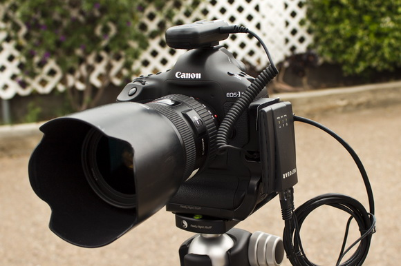 Wireless tethering Canon 1D X