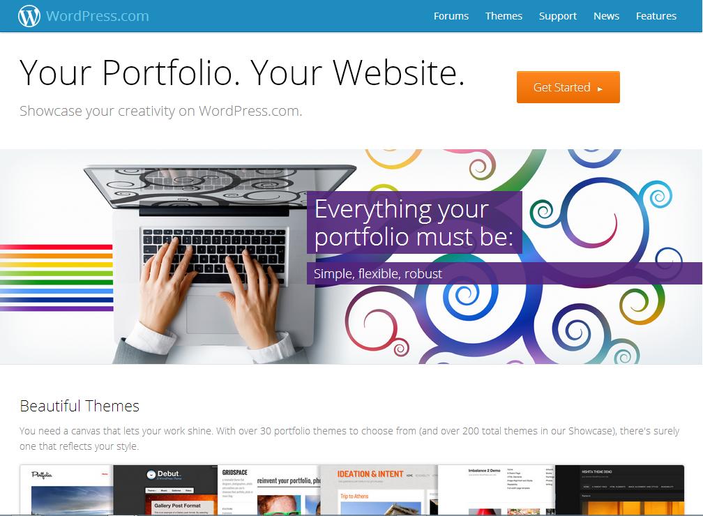 wordpress-portfolio Photo portfolios, now easier with WordPress News and Reviews