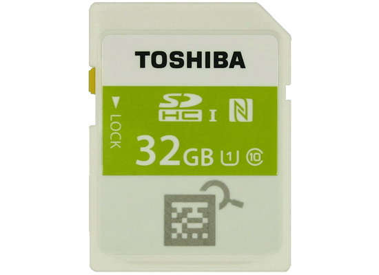 worlds-first-nfc-memory-card Toshiba reveals world's first SDHC memory card with NFC News and Reviews