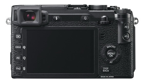 x-e2-viewfinder Weathersealed Fujifilm X-mount camera to be unveiled at CES 2014 Rumors