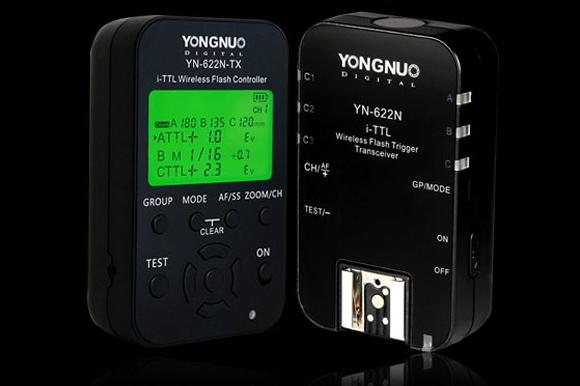 Yongnuo YN-622 radio control