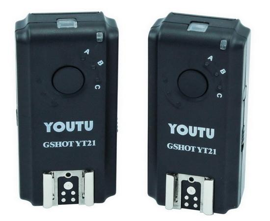 youtu-gshot-yt21-speedlight-trigger Youtu GShot YT21 acts as a Speedlight trigger and IR remote News and Reviews