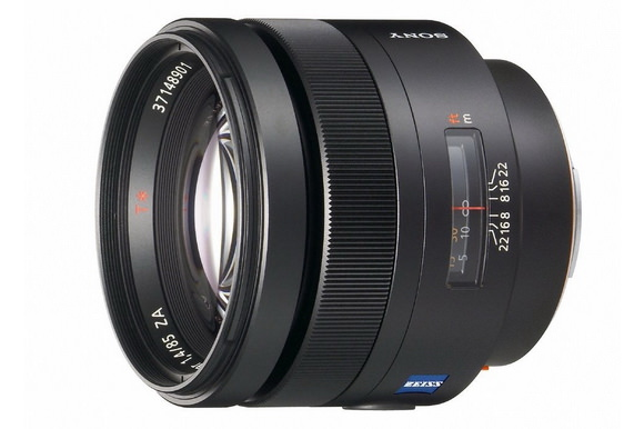 Zeiss 85mm f/1.4 A-mount lens