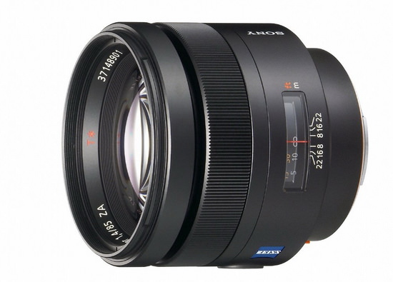 zeiss-85mm-f1.4 Sony FE 85mm f/1.4 G lens set to be released this fall Rumors