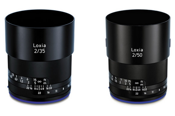 Zeiss Loxia 35mm and 50mm f/2