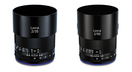 zeiss-loxia-35mm-f2-and-50mm-f2-lenses Zeiss Loxia wide-angle lens to be released in late 2015 News and Reviews