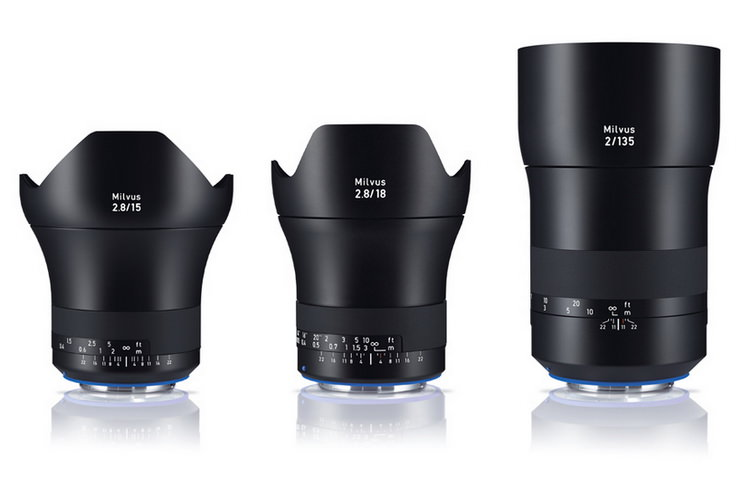 zeiss-milvus-15mm-f2.8-18-f2.8-135mm-f2 Zeiss Milvus 15mm f/2.8, 18mm f/2.8 and 135mm f/2 lenses announced News and Reviews
