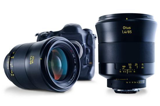 zeiss-otus-family Zeiss Otus 85mm f/1.4 lens unveiled for full frame DSLRs News and Reviews