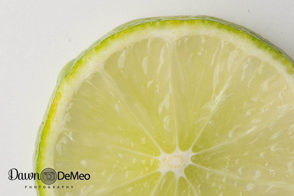 Lime-Slice-Before Color and Detail Pop in Macro Photography with MCP Products