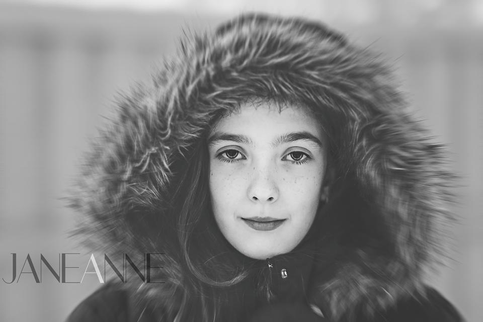 MG_7729editbw2mcpshowandtellafter Inspiring Winter Portrait