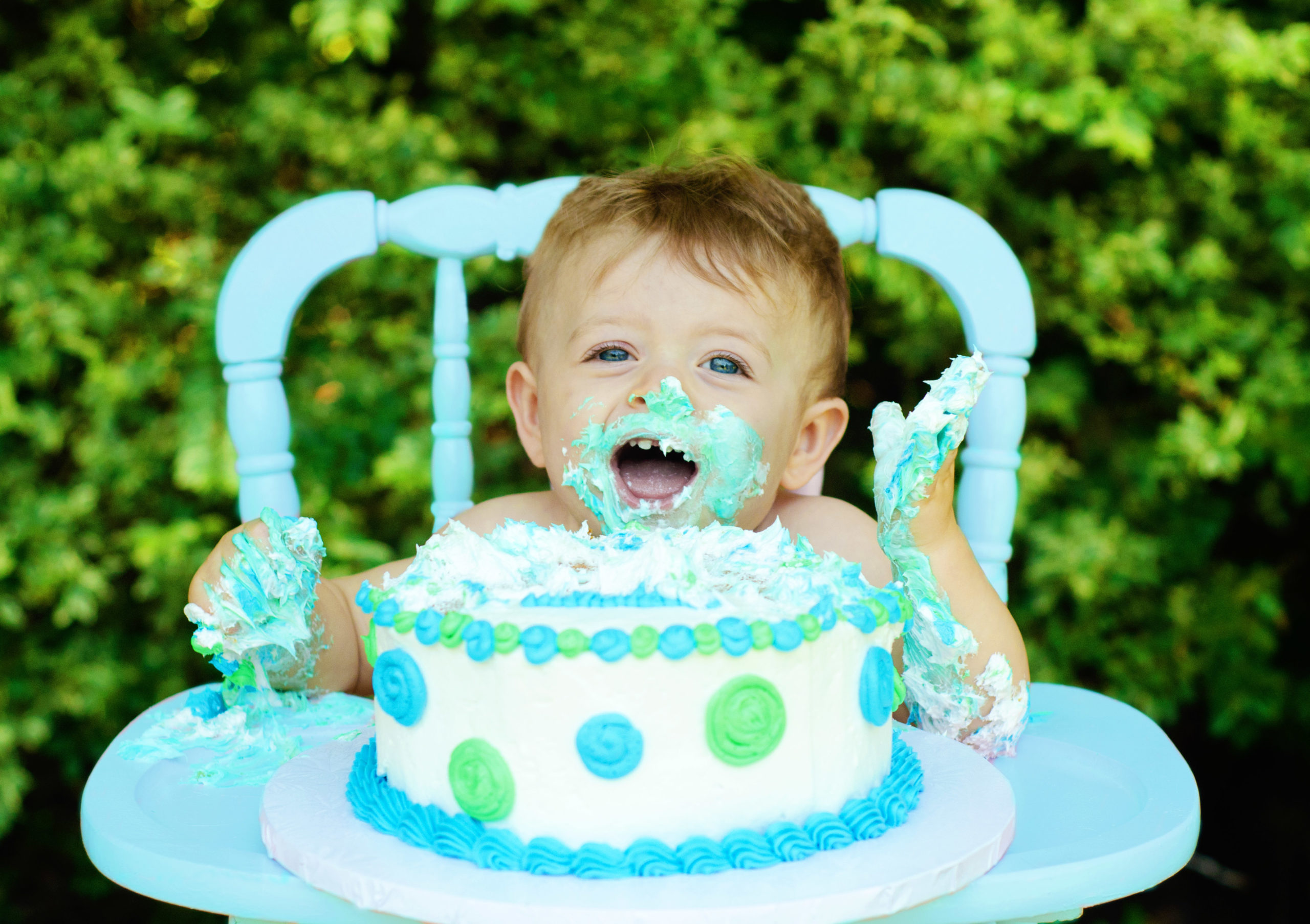 brody7-scaled First Birthday Smash Cake Fun