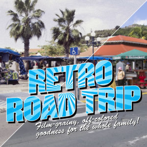 Retro Road Trip Photoshop Actions Set