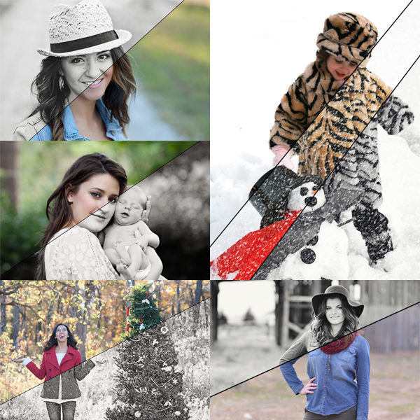 Winter Whirlwind™ Photoshop Actions
